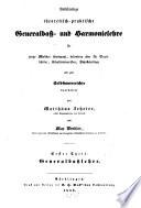 Vollständige theoretisch-praktische Generalbass- und Harmonielehre