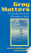 Gray Matters Introduction To The Philosophy Of Mind