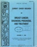 Current Cancer Research on Breast Cancer