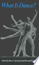 What is Dance?, Readings in Theory and Criticism by Roger Copeland,Marshall Cohen PDF