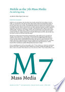 Mobile As The 7th Mass Media