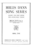 Hollis Dann Song Series