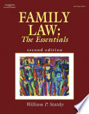 """Family Law: The Essentials"" by William P. Statsky"