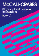 McCall-Crabbs Standard Test Lessons in Reading