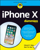 """iPhone X For Dummies"" by Edward C. Baig, Bob LeVitus"