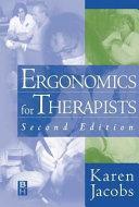 Ergonomics for Therapists