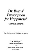 Dr. Burns' Prescription for Happiness