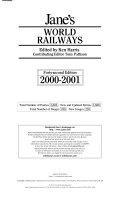 Jane S World Railways 2000 2001