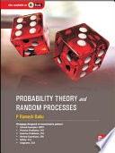 Probability Theory And Random Processes Book PDF