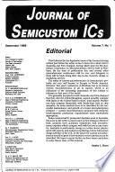 Journal of Semicustom ICs