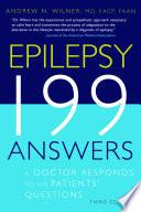 Epilepsy 199 Answers