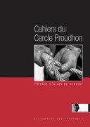 Pdf Les Cahiers du Cercle Proudhon Telecharger