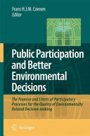 Pdf Public Participation and Better Environmental Decisions Telecharger