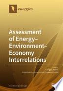 Assessment of Energy–Environment–Economy Interrelations