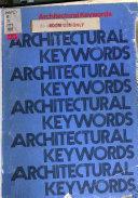 Architectural Keywords