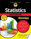 Statistics Workbook For Dummies With Online Practice