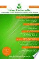 Islam Universalia, Issue Jan 2020