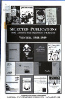 Selected Publications of the California State Department of Education