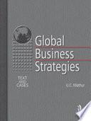 Global Business Strategies Book