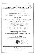 Il Parnasso Italiano ovvero: i quattro poeti celeberrimi Italiani