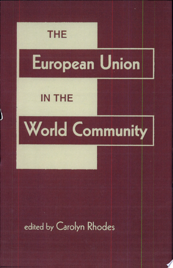 The European Union in the World Community