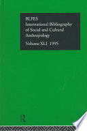 Ibss Anthropology 1995