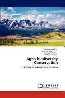 Agro Biodiversity Conservation