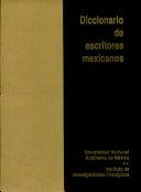 Diccionario de escritores mexicanos, siglo XX: D-F