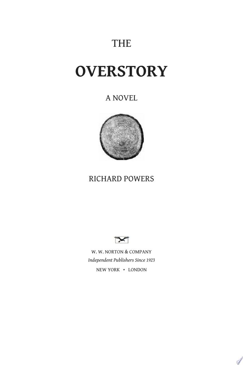 The Overstory: A Novel image