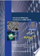 Advanced Materials Conference  AMC 2012