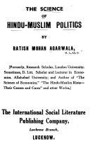 The Selence of Hindu Muslim Politics