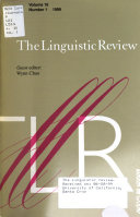 The Linguistic Review