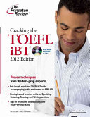 Cracking the TOEFL IBT 2012