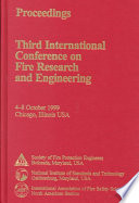 Fire Research and Engineering  Third International Conference Proceedings