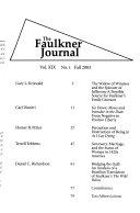 The Faulkner Journal Pdf/ePub eBook