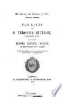 The Lives of S. Veronica Giuliani, Capuchin Nun