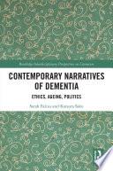 Contemporary Narratives of Dementia