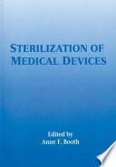 Sterilization Of Medical Devices Book PDF