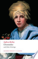 Free Oroonoko and Other Writings Book