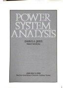 Power System Analysis Book PDF