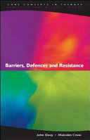 Barriers  Defences and Resistance