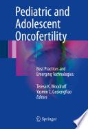 Pediatric And Adolescent Oncofertility
