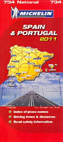 Spain and Portugal 2011 National Map
