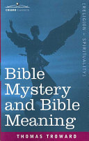 Pdf Bible Mystery and Bible Meaning Telecharger