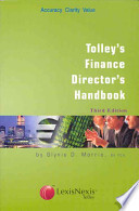 Tolley's Finance Director's Handbook