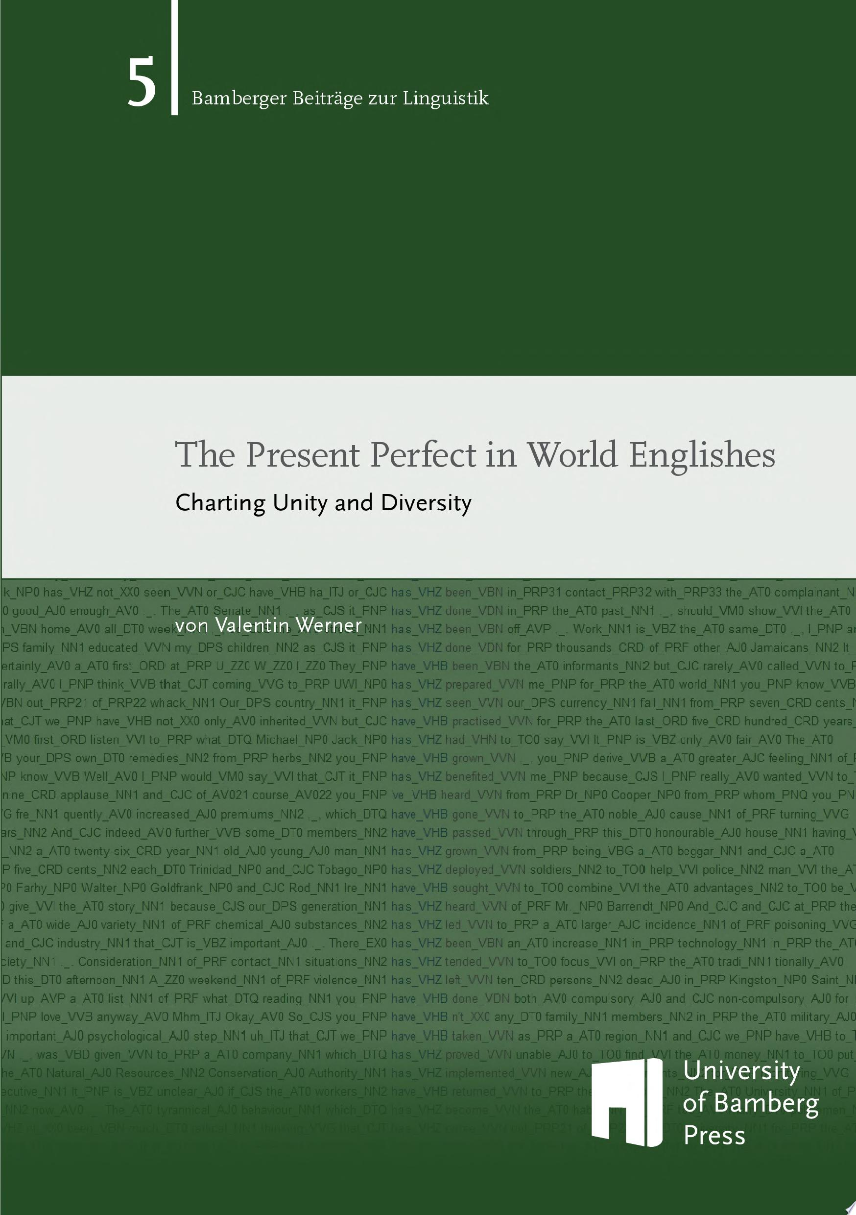 The Present Perfect in World Englishes