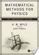 Mathematical Methods for Physics Book