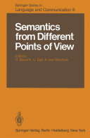 Pdf Semantics from Different Points of View Telecharger