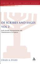 Of Scribes and Sages, Vol 2 [Pdf/ePub] eBook