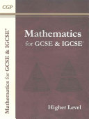 Maths for GCSE and IGCSE, Higher Level/Extended